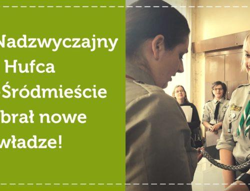 Nowa komenda Hufca Łódź-Śródmieście!