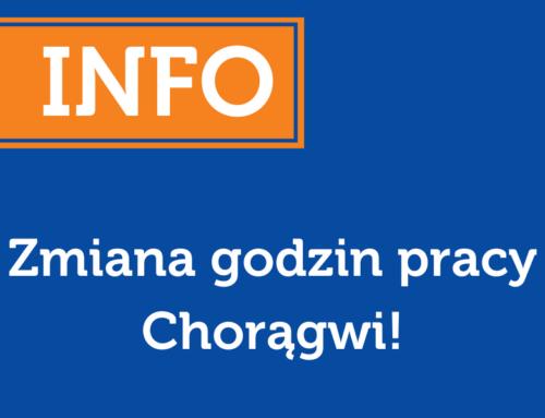 Zmiana godzin pracy Chorągwi we wtorek 14 sierpnia!