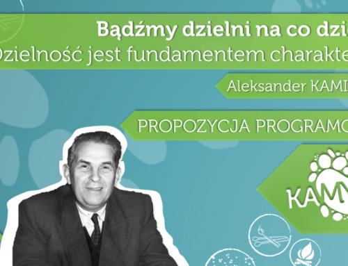 """Dziś 116. urodziny hm. Aleksandra """"Kamyka"""" Kamińskiego! Konkurs #lodzkaczytakaminskiego"""
