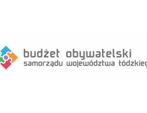 Głosuj na nasze projekty w Budżecie Obywatelskim województwa łódzkiego!
