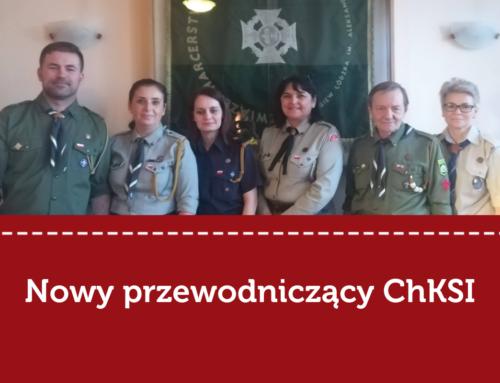 Hm. Adam Cieślak został nowym przewodniczącym Chorągwianej Komisji Stopni Instruktorskich