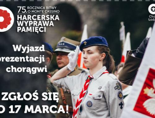 Harcerska Wyprawa Pamięci 75. rocznica bitwy o Monte Cassino – Chorągiew Łódzka ZHP