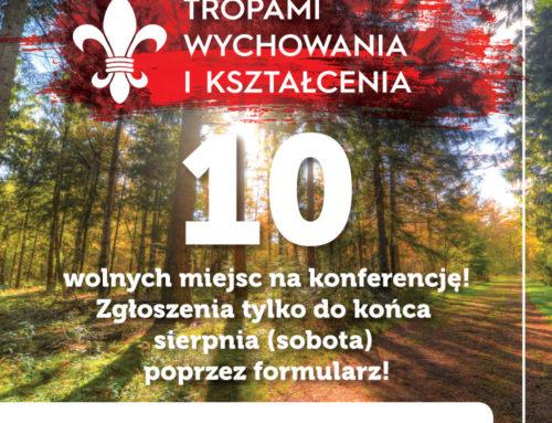 Dodatkowa rekrutacja na Konferencję Harcmistrzowską!