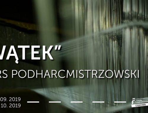 """ŁChSI OSNOWA zaprasza na kurs podharcmistrzowski """"Wątek"""""""