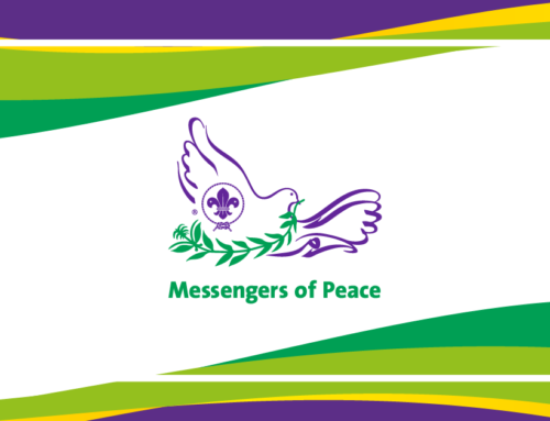 Każdy skaut i skautka, każdy harcerz i harcerka jest Messenger of Peace!