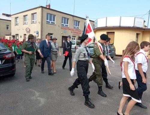 Jubileusz 45-lecia działalności Hufca ZHP Uniejów.